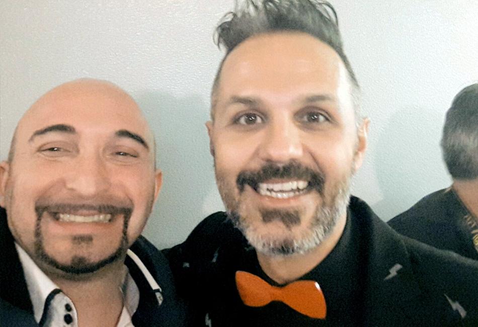 Enrich Zuin con Paolo Franceschini